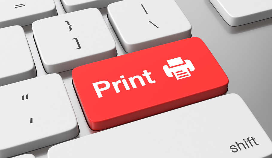 How much do you spend on printing ?